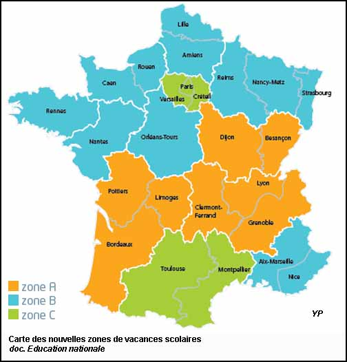 le nouveau calendrier scolaire 2015 2016 2016 2017 2017. Black Bedroom Furniture Sets. Home Design Ideas