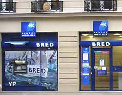 agence bancaire Bred