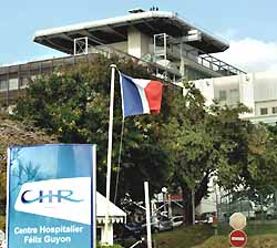 Centre hospitalier Régional Site Félix Guyon (doc. CHR Réunion)