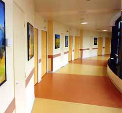 Maternité de la clinique de La Châtaigneraie (doc. Clinique de La Châtaigneraie)