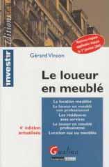 Guide des d marches livres habitation logement for Loueur en meuble non professionnel