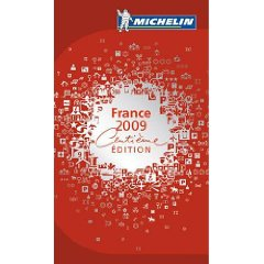 Guide Michelin France 2009