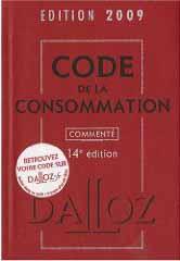 Code de la consommation édition 2009 - Yves Picod