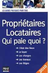 Guide des d marches livres habitation logement location bail - Locataire proprietaire qui paie quoi ...