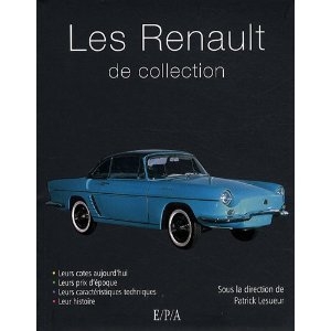 Les Renault de collection
